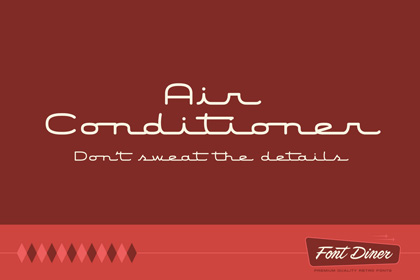 air-conditioner-free-font