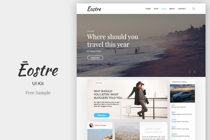 Eostre Ui Kit - Free Sample