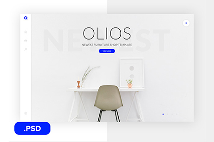 Olios PSD Template