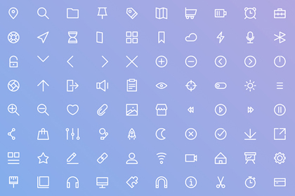 UI Basis Icon Set