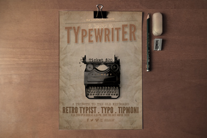 free-retro-flyer-poster-template