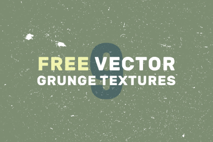 9 Free Vector Grunge Textures