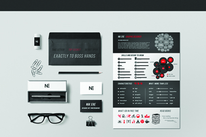 Free Resume Template by Nik Ere