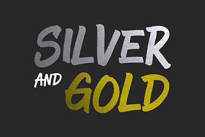 Silver and Gold - PSD Styles