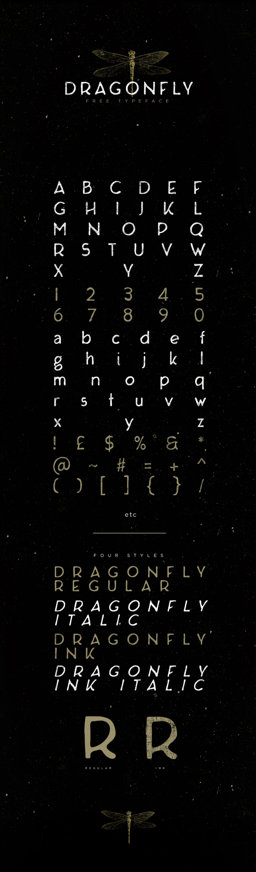 Dragonfly Free Typeface
