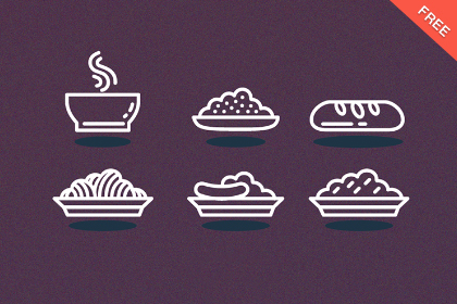 Free Vector Line Icon Set