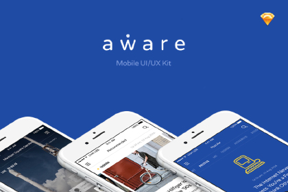 Aware - Mobile UI Kit