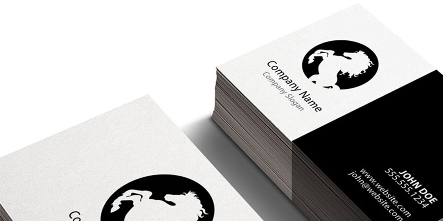 Corporate Styled Business Cards (PSD)