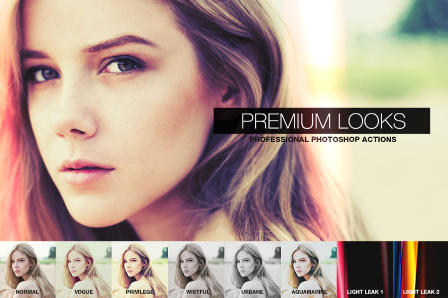 Premium Looks - Photoshop Action