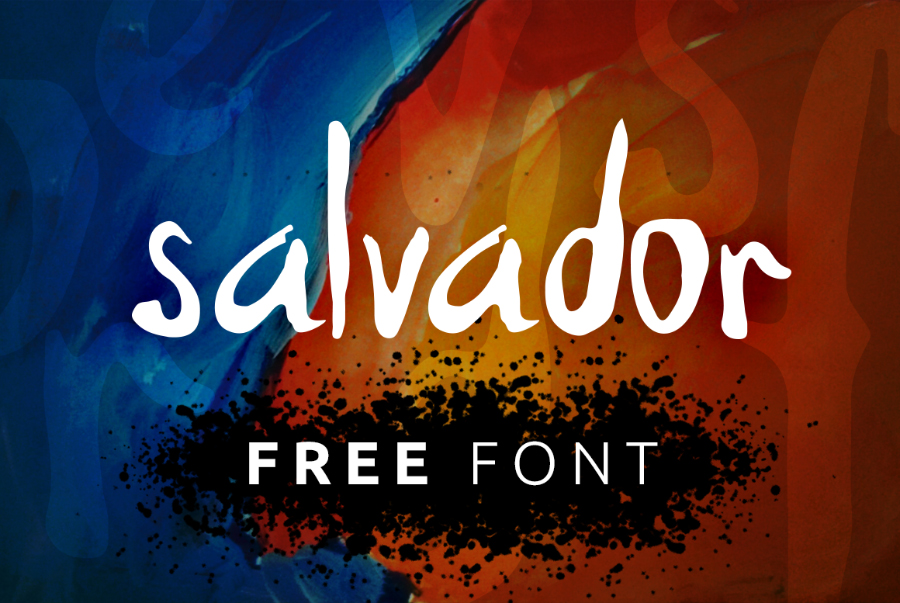 Salvador - Handwriting Font