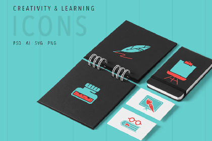 Art & Learning - Free Icon Set