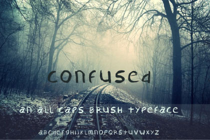 Confused Free Typeface
