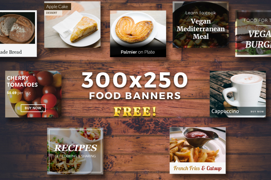 Free Food Banners