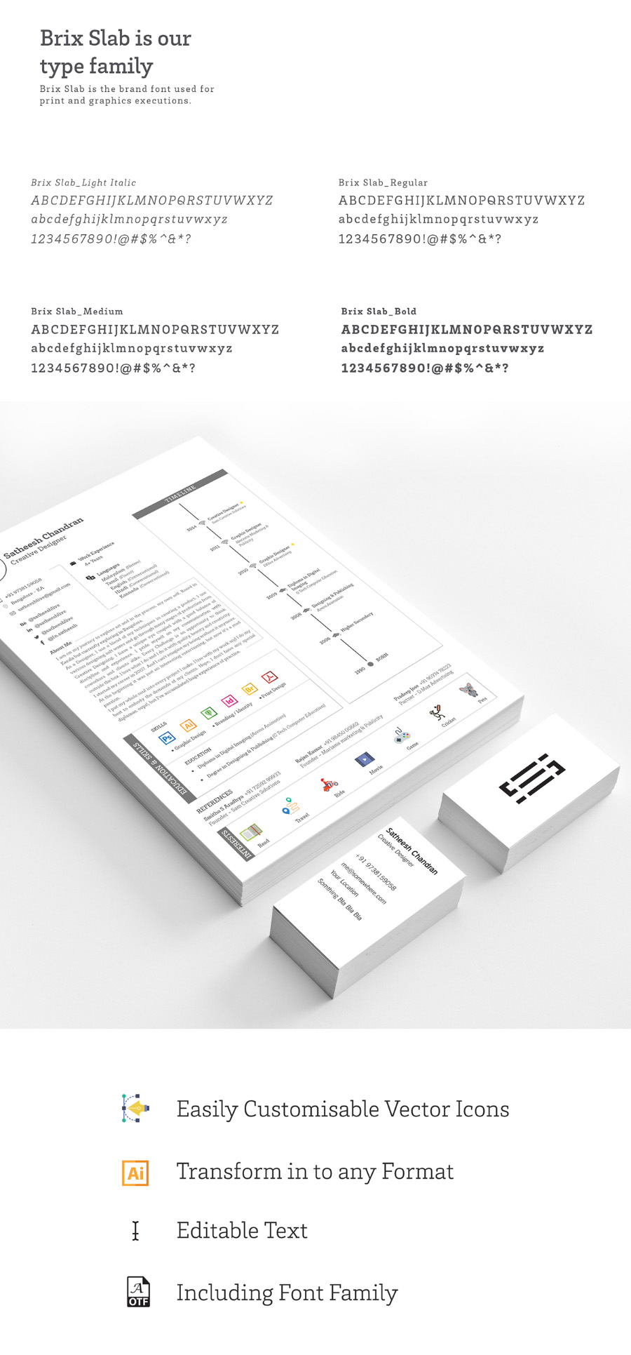 Handy Resume Template
