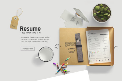 Free Handy Resume Template