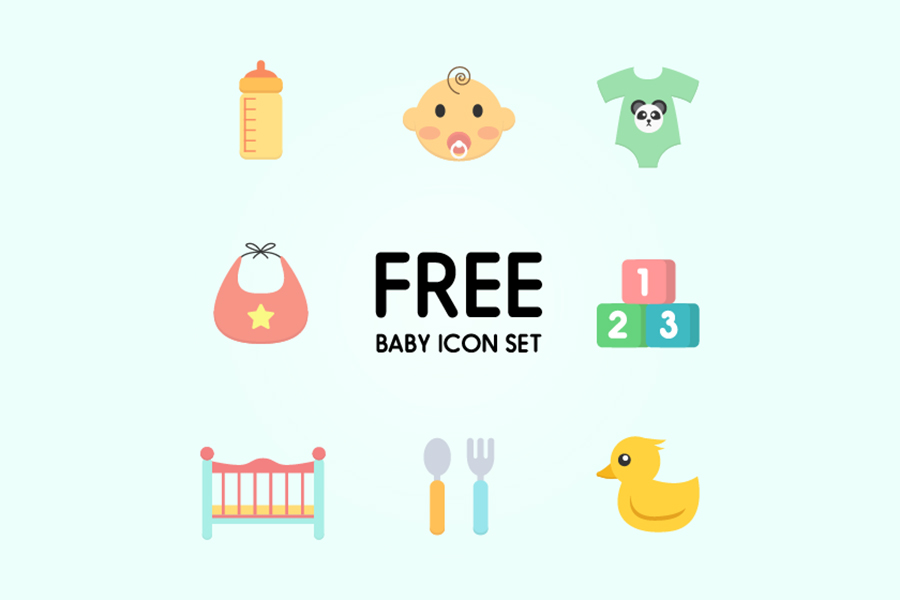 Http Freedesignresources Net Free Baby Icon Set