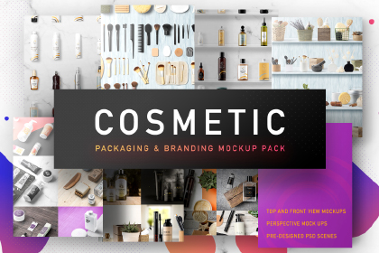 Cosmetic Packaging Mockups