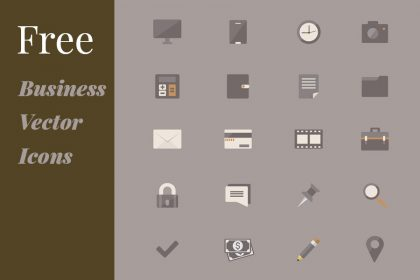 Free Business Vector Icons thumbok