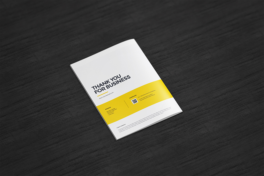 A4 Free Catalogue Mockup