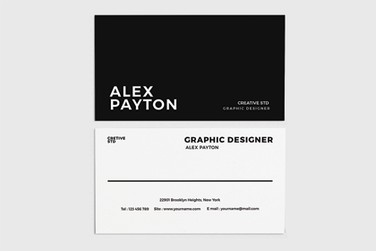 Stylish Business Card Free Template