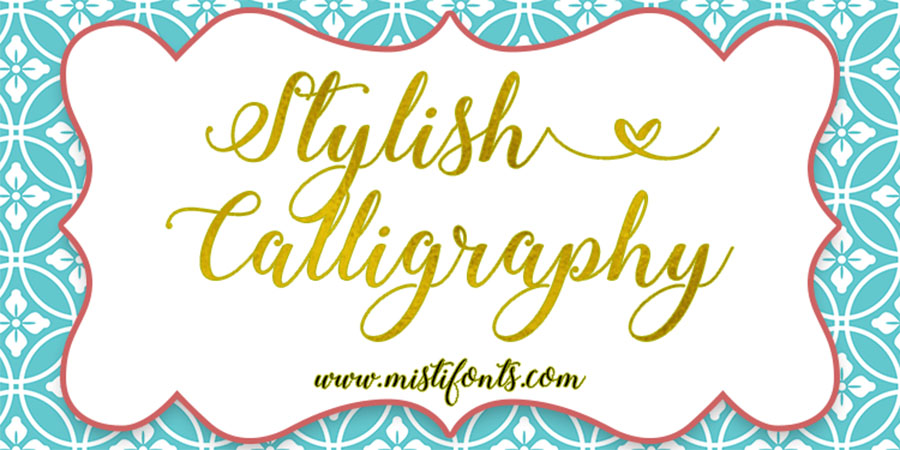 Stylish Calligraphy Free Demo