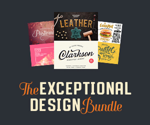 The Exceptional Design Bundle (1300+ Quality Resources)