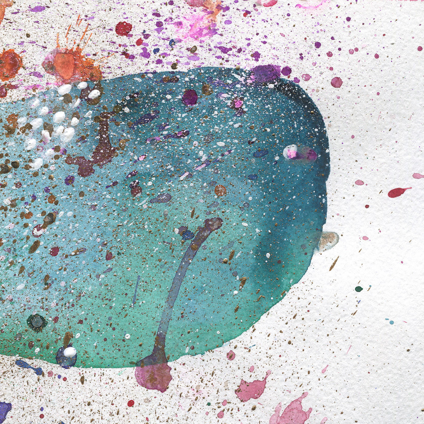 Free Watercolor Abstract Background
