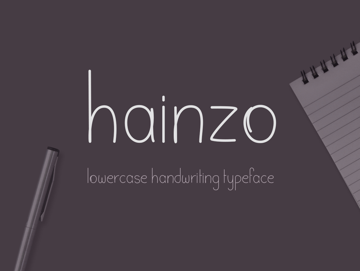 Hainzo Handwriting Free Font