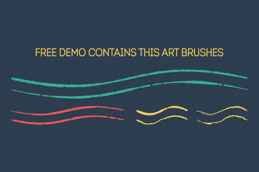 Handdrawn Vector Brush Free Demo