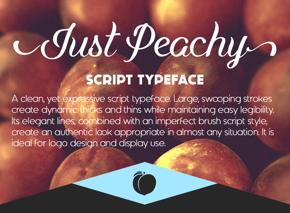 Just Peachy Script Free Demo