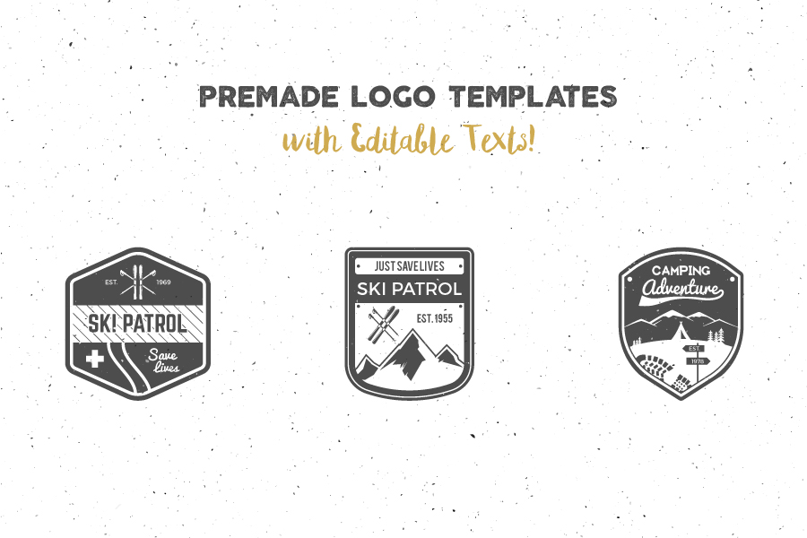 Logo Creation Kit Camping Edition Free Demo_2
