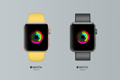 Free Apple Watch Series 2 Mockup