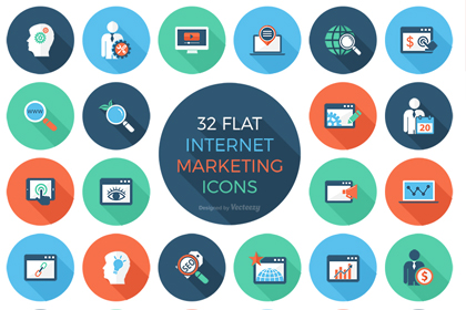 Free Internet Marketing Icon Set
