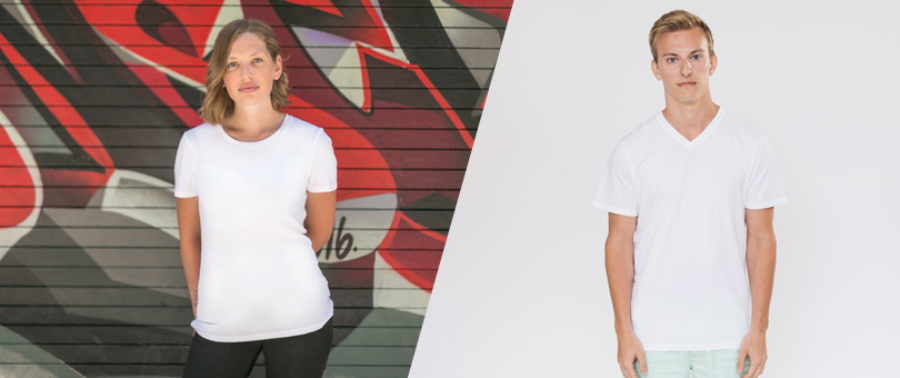Free Photorealistic T-Shirt Template