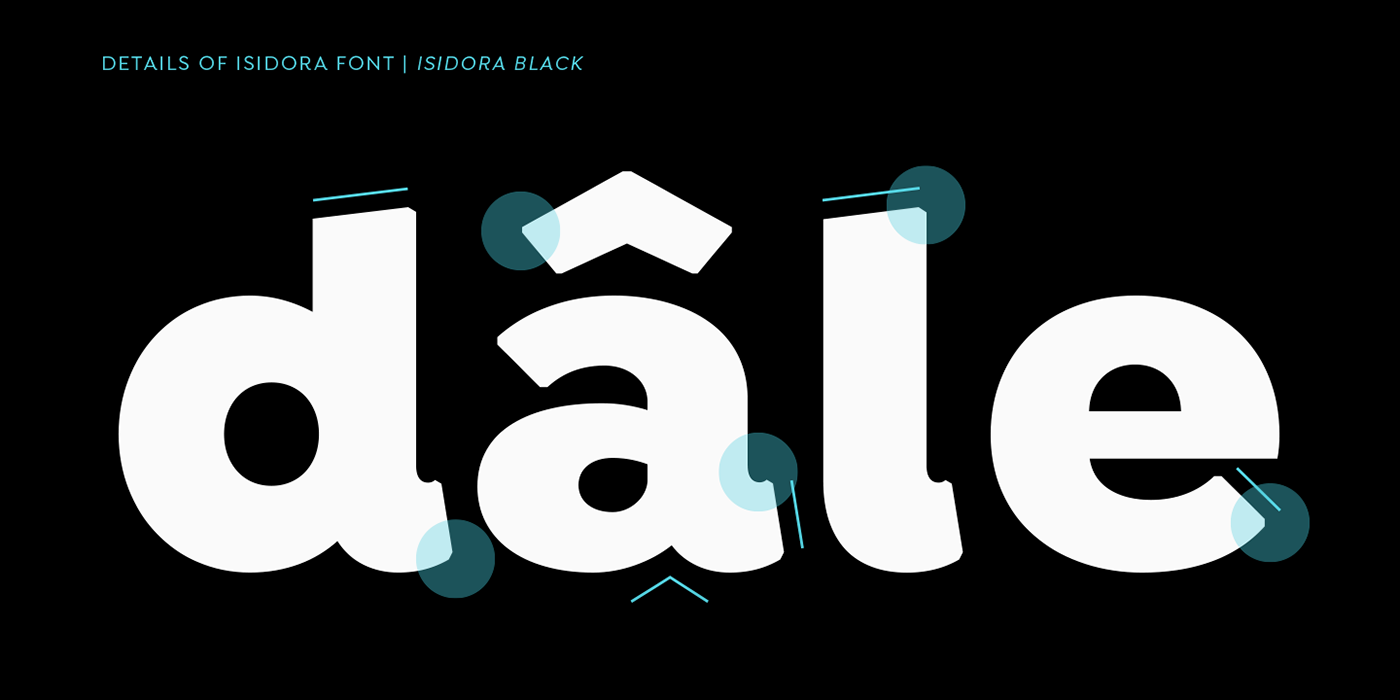 Isidora Light Free Typeface