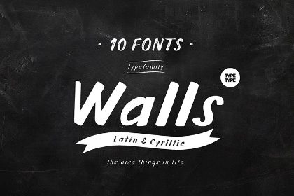 TT Walls Type Family Free Demo