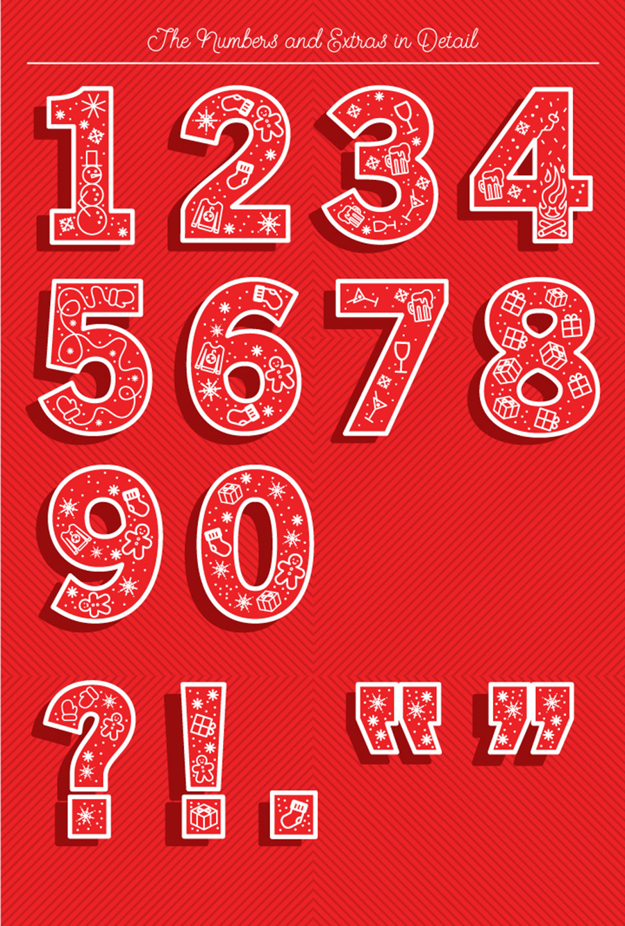 Christmas Vector Typeface