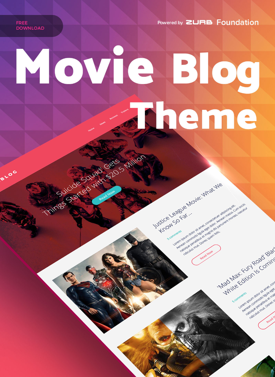 Free Sketch Movie Theme