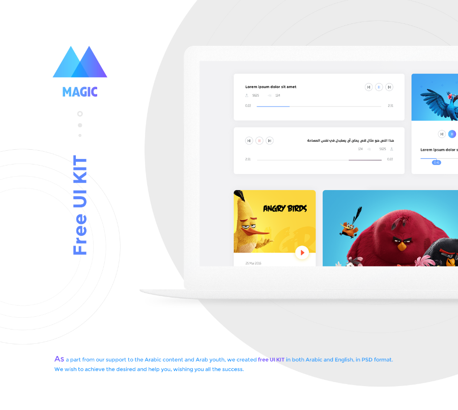 Magic Free Creative UI Kit