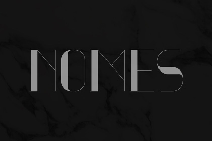 Nomes Display Free Typeface