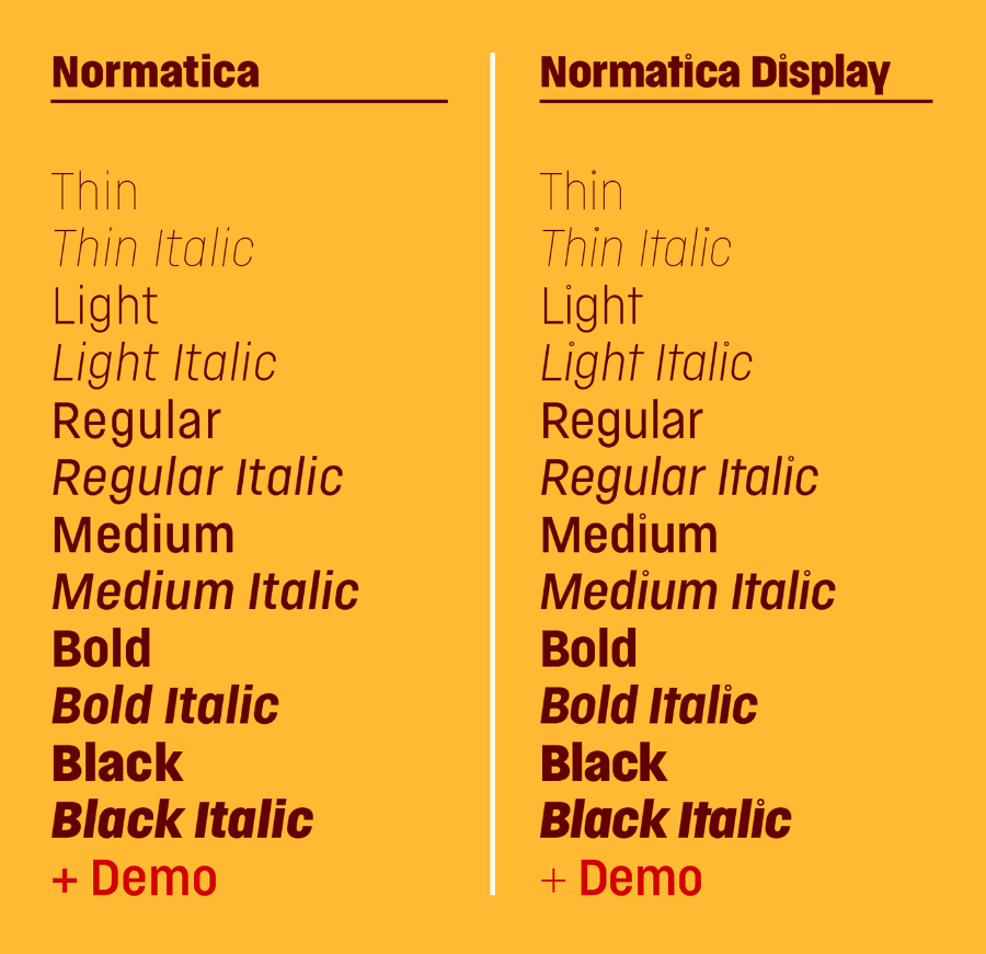 Normatica Display Free Demo