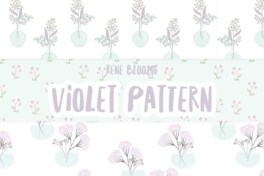 Violet Free Vector Patterns