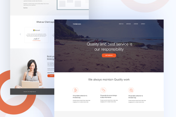 UInugget Free PSD Template