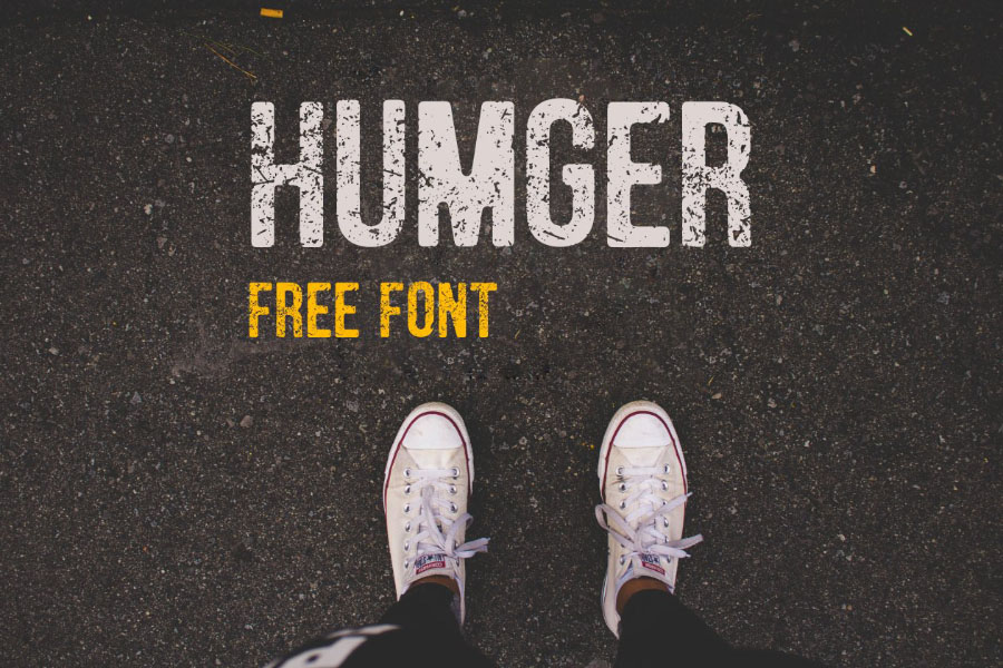 Humger Display Free Typeface