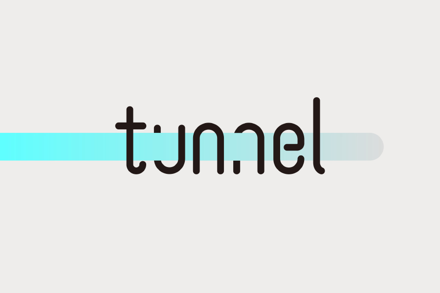 Tunnel Free Vector Typeface