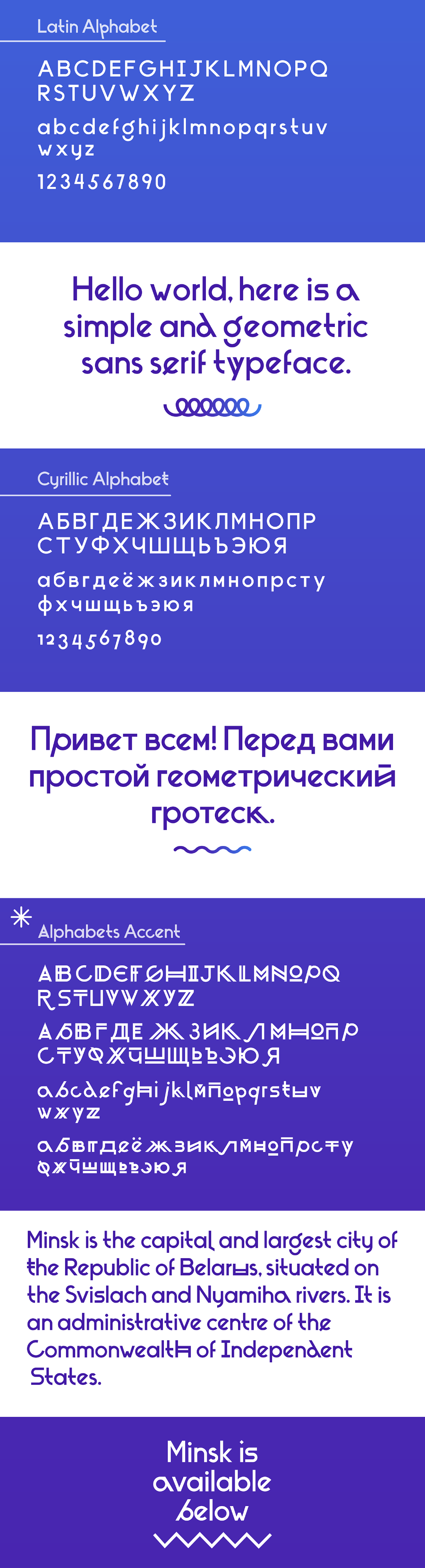 Minsk Display Free Typeface