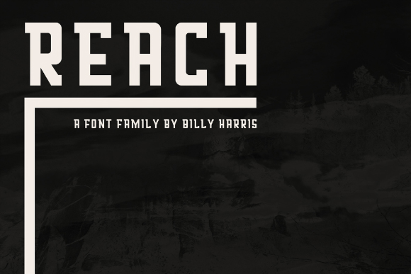 Reach Display Font Family
