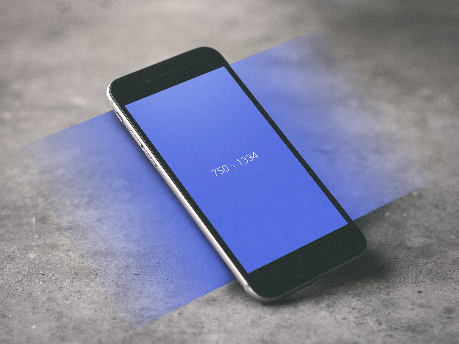 iPhone Floating Layers UI Mockup