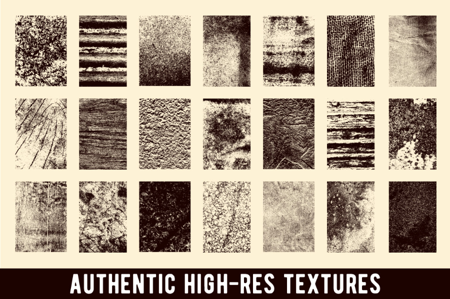 Real Dirty Textures Samples