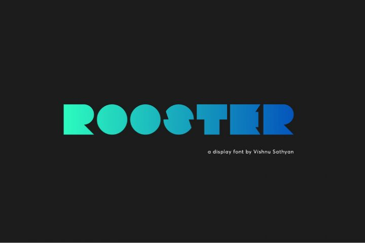 Rooster Display Free Font